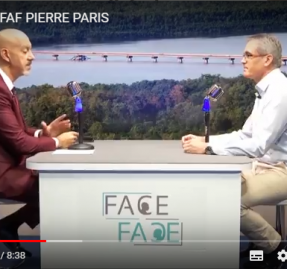 Pierre Paris, invité de « Face à Face » sur ATV-23052018